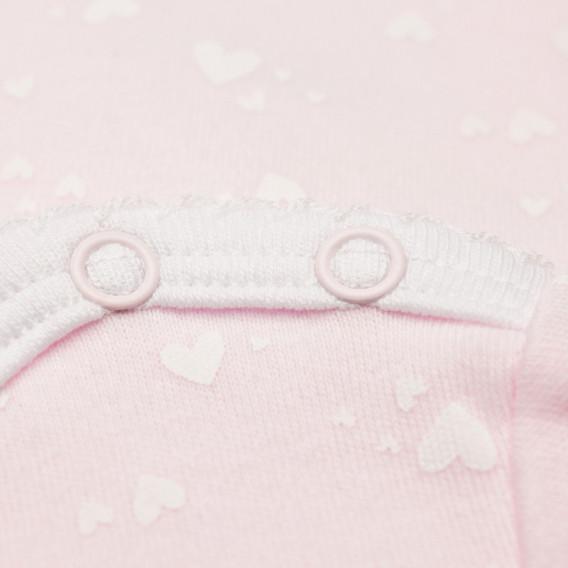 Kомплект 2 броя бодита с къс ръкав за бебе момиче Chicco 36359 6