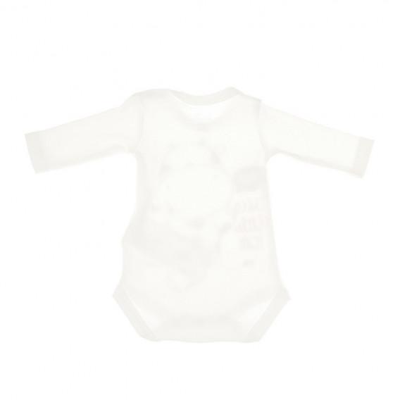 Комплект от 2 броя бодита с дълъг ръкав за бебе - унисекс Chicco 36393 2