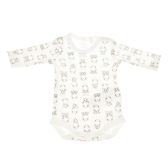 Комплект от 2 броя бодита с дълъг ръкав за бебе - унисекс Chicco 36394 3