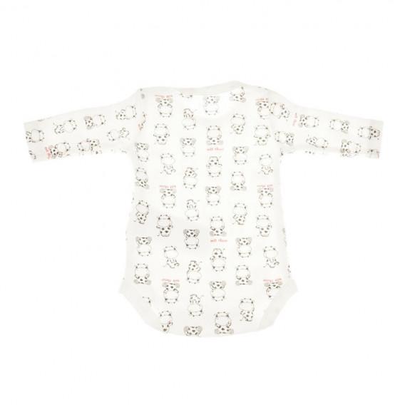 Комплект от 2 броя бодита с дълъг ръкав за бебе - унисекс Chicco 36395 4