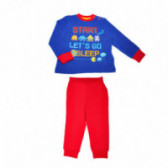 Памучна пижама за момче Chicco 36484