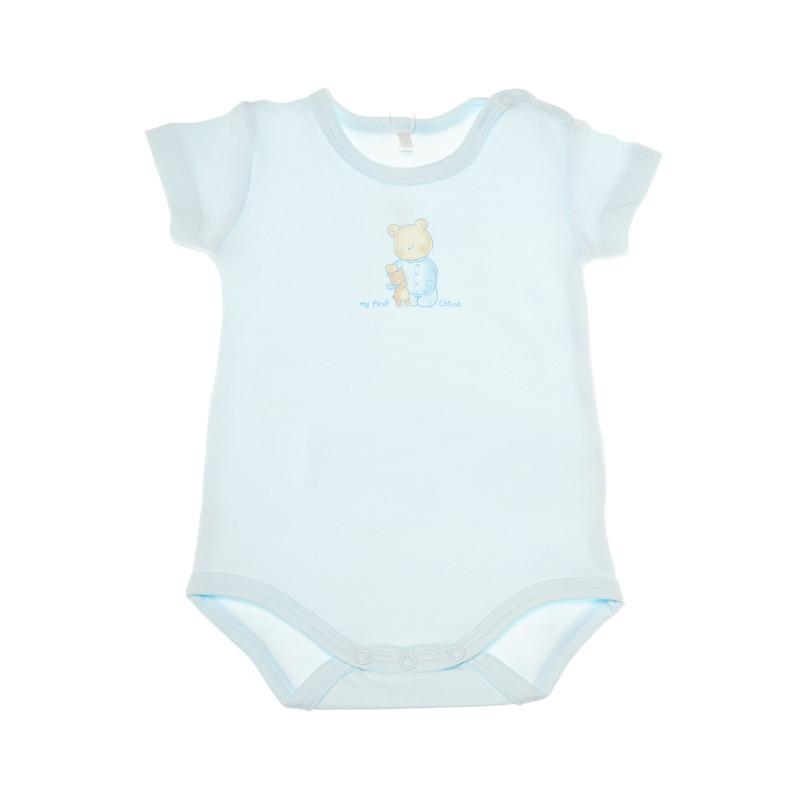 Памучно боди с къс ръкав за бебе момиче  36624