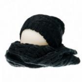 Плетен комплект шапка и шал за момиче Chicco 36771