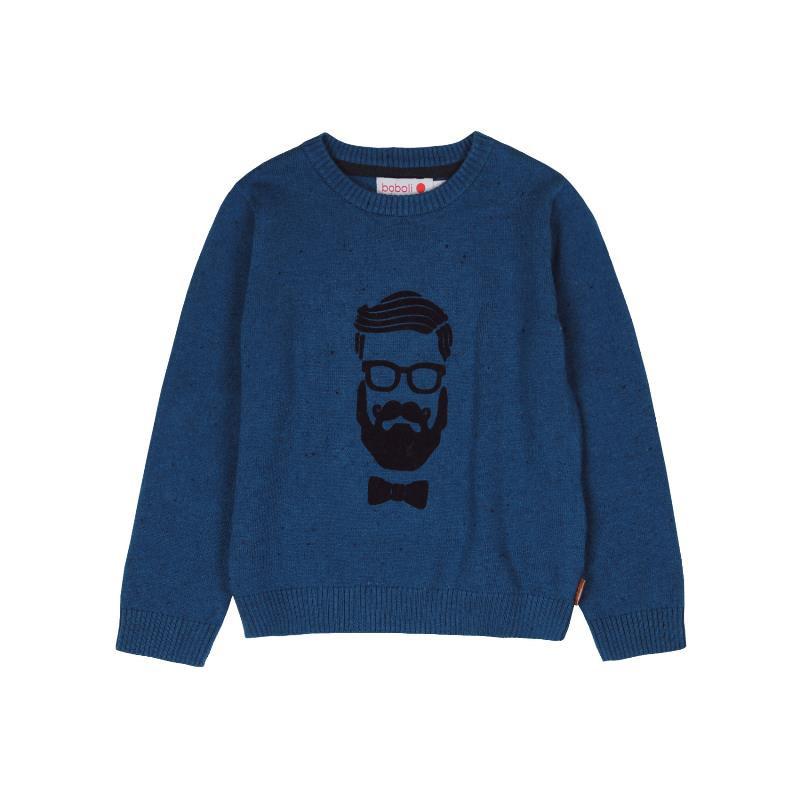 Пуловер за момче  от фина плетка  3698