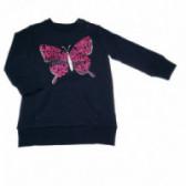 Памучна блуза с дълъг ръкав за момиче Chicco 37266