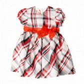 Памучна рокля с къс ръкав за бебе Chicco 37464