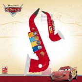 Детски саксофон с 4 музикални ноти Cars 3766