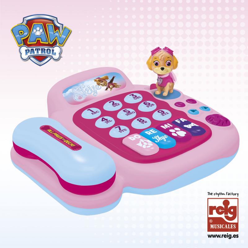 Детски активен телефон с пиано  3808