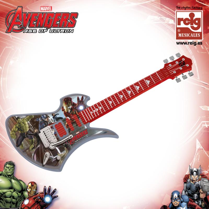 Детска електронна китара Отмъстителите  3820