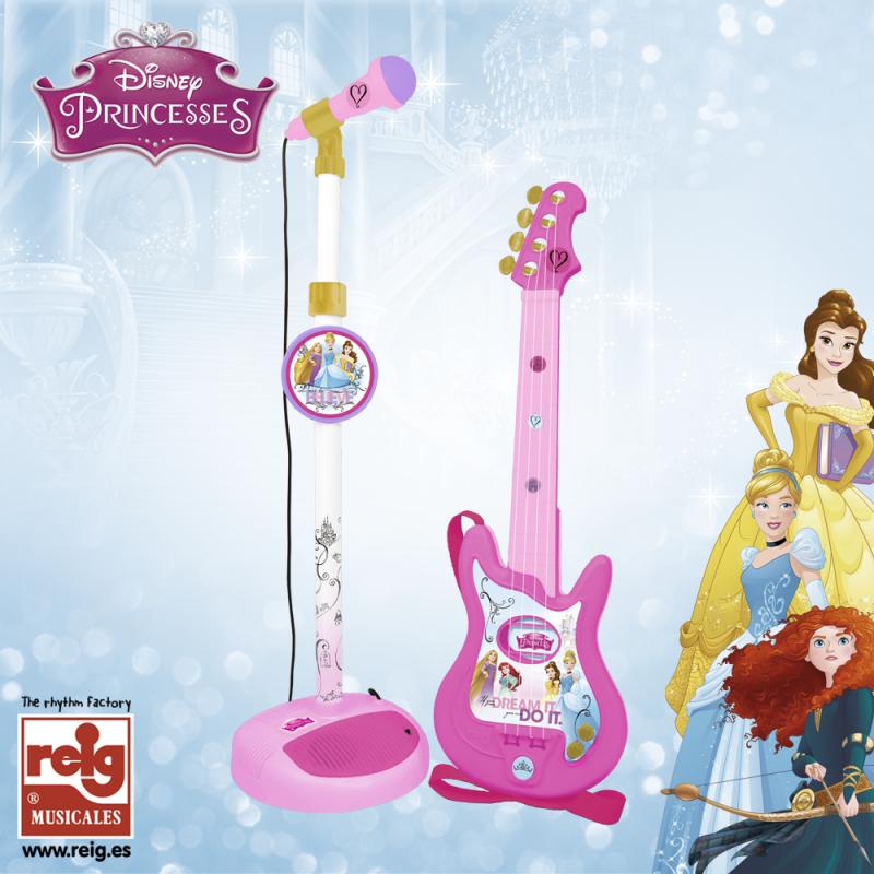 Детски комплект китара и микрофон  3825