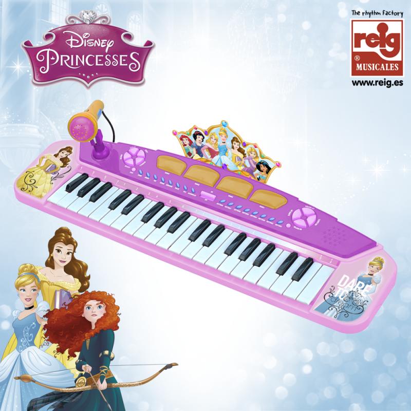Детско електронно пиано с микрофон за момиче  3827