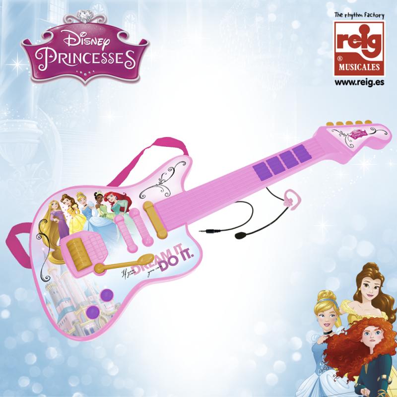 Детска електронна китара с микрофон  3835