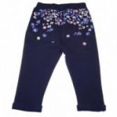 Памучен панталон за бебе момиче Chicco 38754 2