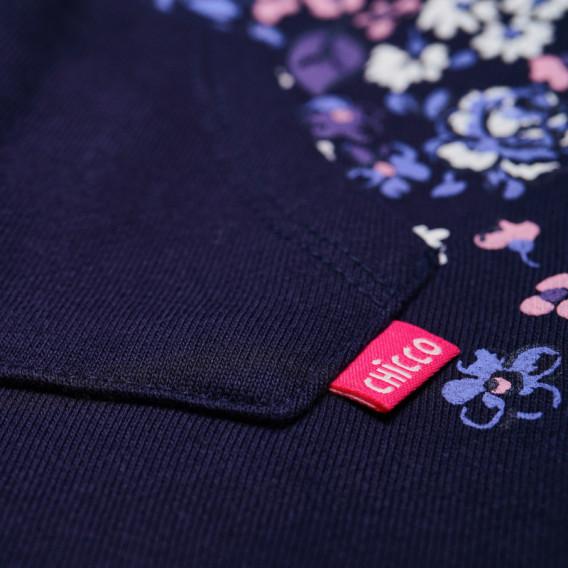 Памучен панталон за бебе момиче Chicco 38755 3