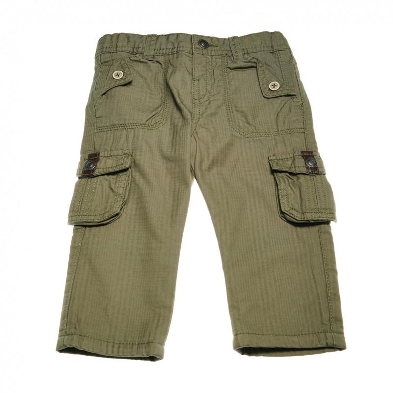 Памучен панталон за бебе момче  38816