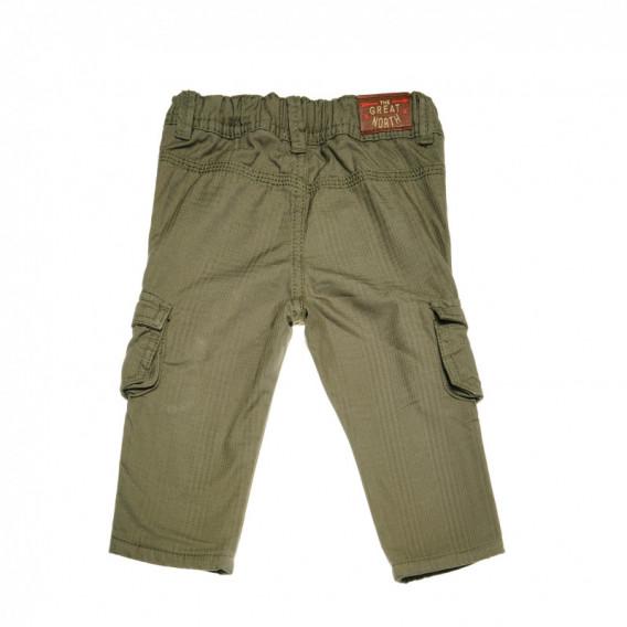 Памучен панталон за бебе момче Chicco 38817 2