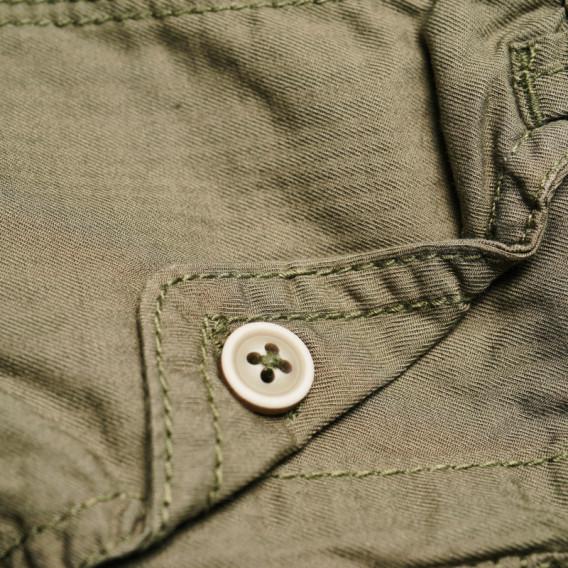 Памучен панталон за бебе момче Chicco 38818 3