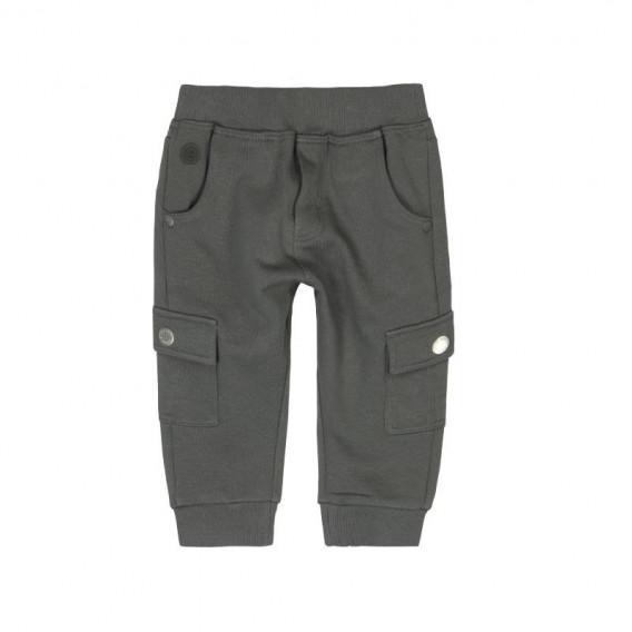 Памучен панталон за бебе момче Boboli 391