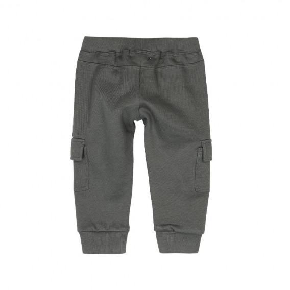 Памучен панталон за бебе момче Boboli 392 2