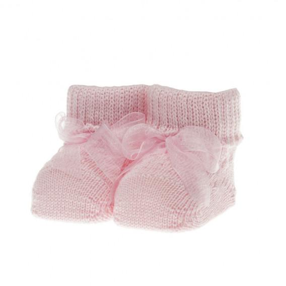 Плетени  чорапки за бебе момиче Chicco 39384
