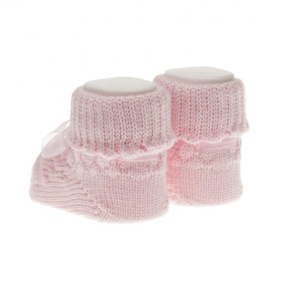 Плетени  чорапки за бебе момиче Chicco 39385 2