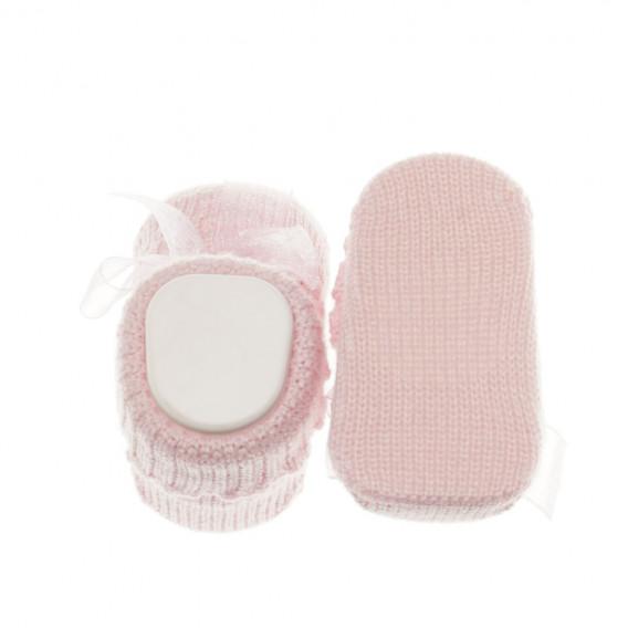 Плетени  чорапки за бебе момиче Chicco 39386 3