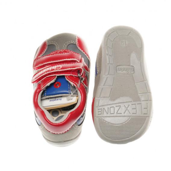 Кожени обувки за бебе момче Chicco 39459 3