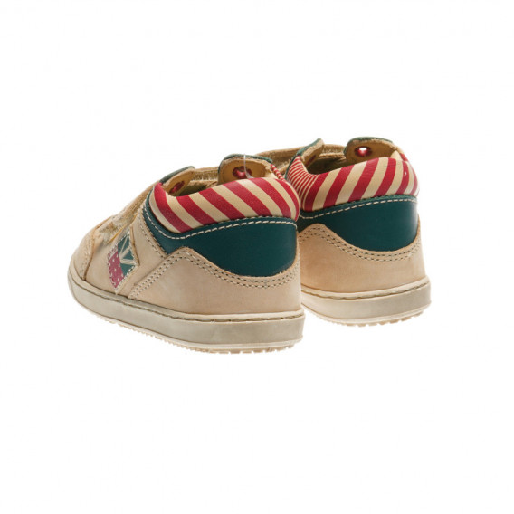Кожени обувки за бебе момче Chicco 39461 2