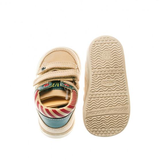 Кожени обувки за бебе момче Chicco 39463 4