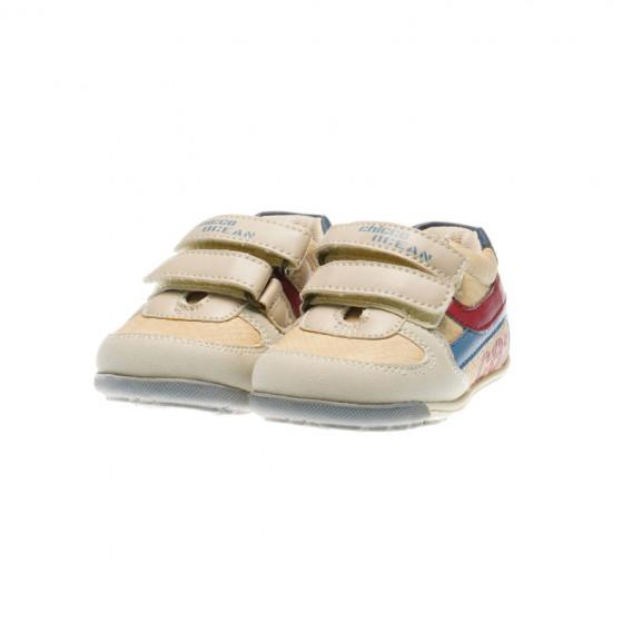 Кожени обувки за бебе момче Chicco 39467