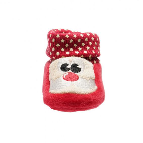Меки боти за бебе - унисекс Chicco 39600 3
