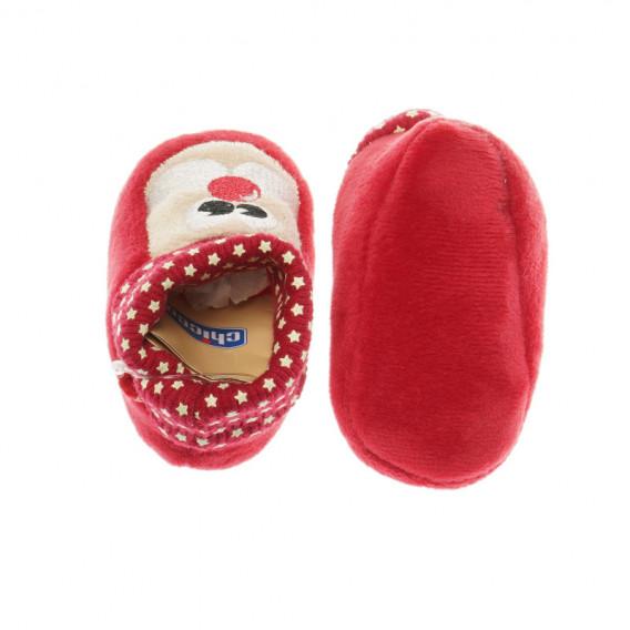 Меки боти за бебе - унисекс Chicco 39601 4