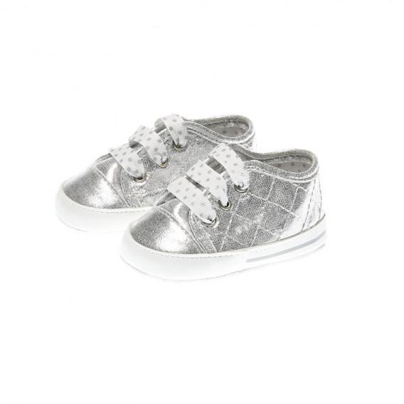 Меки буйки за бебе момиче, сребърни Chicco 39633