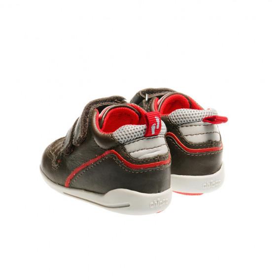 Кожени обувки за бебе момче Chicco 39912 2