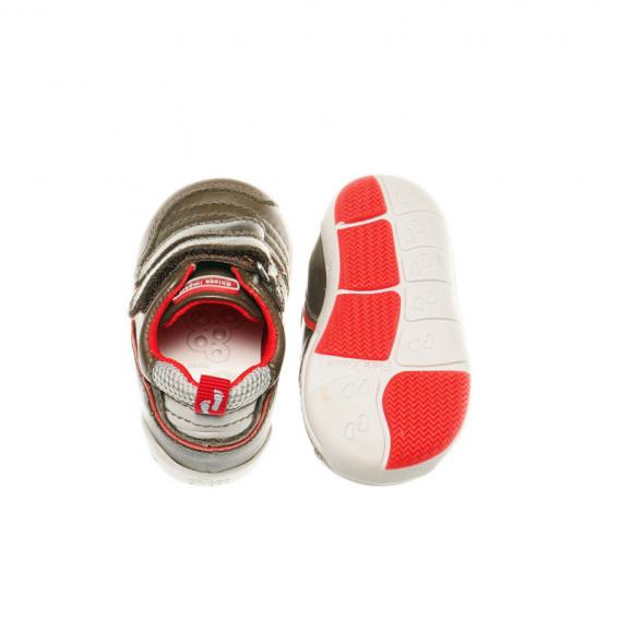 Кожени обувки за бебе момче Chicco 39913 3