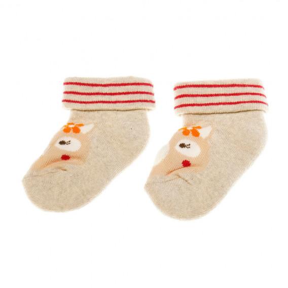 Чорапи за бебе - унисекс Chicco 40319 2