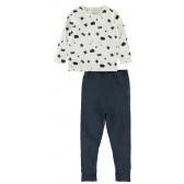 Памучна пижама от 2 части за момче Name it 4050