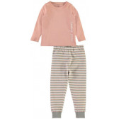 Памучна пижама от 2 части за момиче Name it 4055
