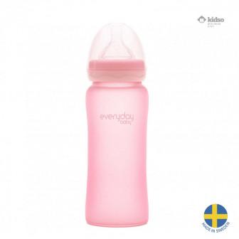 Стъклено шише с противоударно покритие. швеция Everyday baby 40939