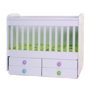 Бебешко легло деси - трансформиращо Дизайн Бейби 40958