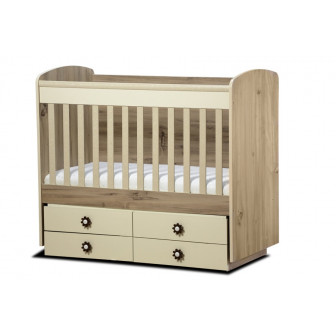 Бебешко легло деси - трансформиращо Дизайн Бейби 40959