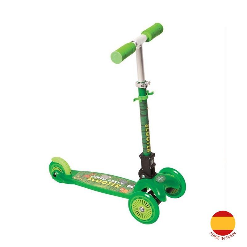 Скутер Liliput, зелен  40995