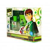 Детски комплект ben 10 - фенерче и тоалетна вода. Ben 10 41717