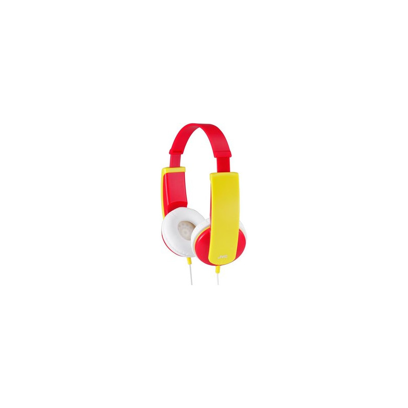 Стерео слушалки ha-kd5-v, червено и жълто  41946