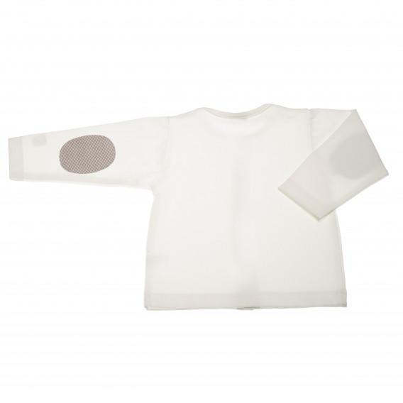 Памучна жилетка с дълъг ръкав за бебе момче Pinokio 42468 2