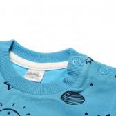 Памучна блуза с дълъг ръкав за бебе момче Pinokio 42504 2