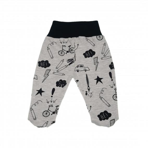 Памучни ританки за бебе момче Pinokio 42533 3