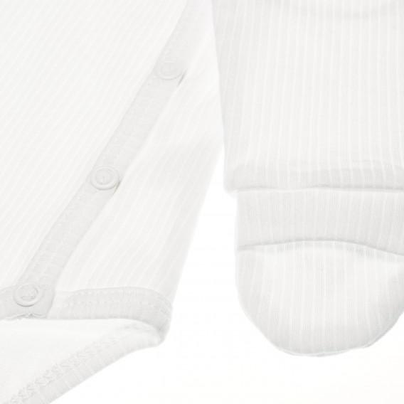 Памучно боди с дълъг ръкав за бебе - унисекс Pinokio 42540 2