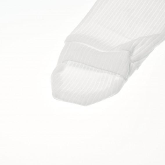 Памучно боди с дълъг ръкав за бебе - унисекс Pinokio 42542 4