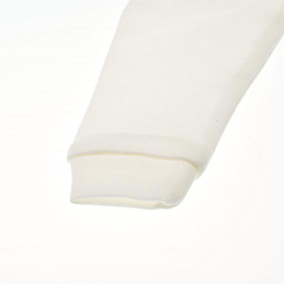 Памучна жилетка с дълъг ръкав за бебе Pinokio 42570 2